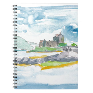 Scotland Highlands Fantasy and Eilean Donan Castle Notebooks