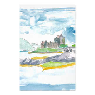 Scotland Highlands Fantasy and Eilean Donan Castle Stationery