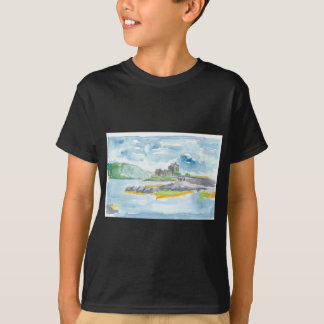 Scotland Highlands Fantasy and Eilean Donan Castle T-Shirt