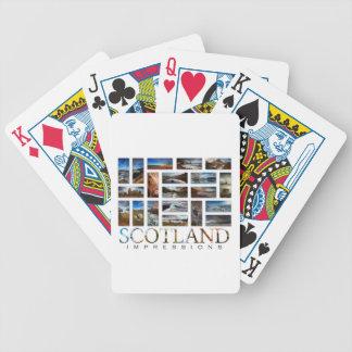 Scotland Impressions Bicycle Playing Cards