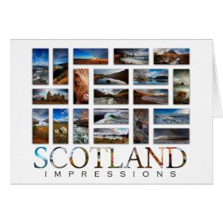 Scotland Impressions Card