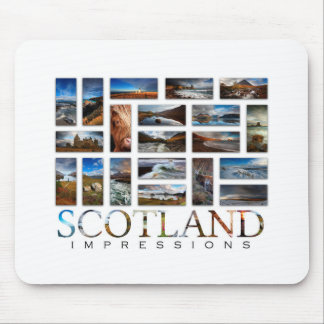 Scotland Impressions Mouse Pad