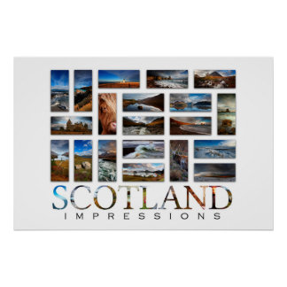 Scotland Impressions Poster