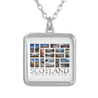 Scotland Impressions Silver Plated Necklace