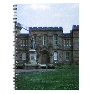 Scotland Inverness Castle Art snap-37689a  jGibney Note Book