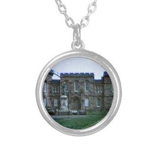 Scotland Inverness Castle Art snap-37689a  jGibney Silver Plated Necklace
