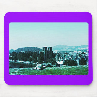 Scotland Inverness Castle Art snap-38784  jGibney Mouse Pad