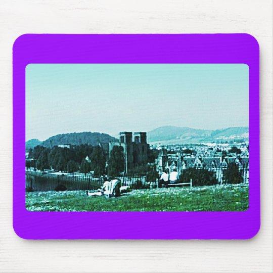 Scotland Inverness Castle Art snap-38784  jGibney Mouse Pad