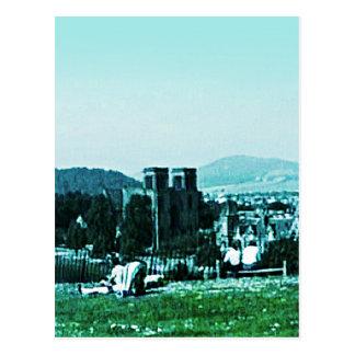 Scotland Inverness Castle Art snap-38784  jGibney Postcard