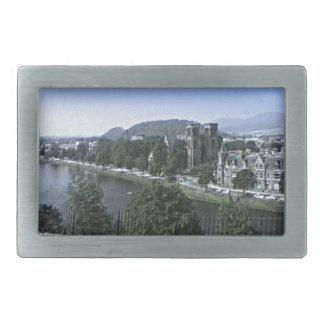 Scotland Inverness Castle Art snap-39210  jGibney Belt Buckles