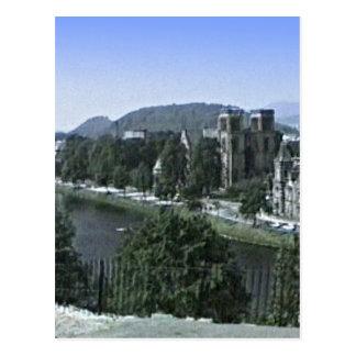 Scotland Inverness Castle Art snap-39210  jGibney Postcard