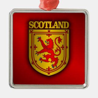 Scotland Lesser Arms Metal Ornament