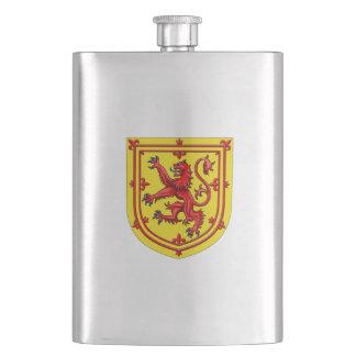 Scotland Lion Rampant Coat Of Arms Hip Flask