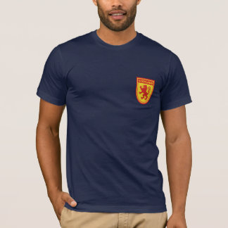 Scotland Lion Rampant Shield Tshirt