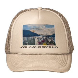 SCOTLAND LOCH LOMOND TRUCKER HAT