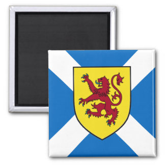 Scotland Magnet - Cross & Lion