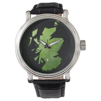 Scotland Map Watches