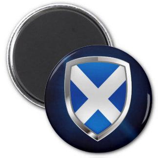 Scotland Metallic Emblem Magnet