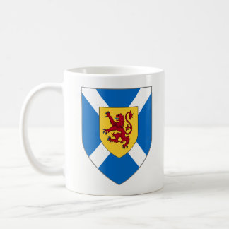 Scotland Mug - Cross & Lion Shield
