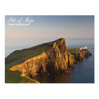 Scotland - Neist lighthouse postcard