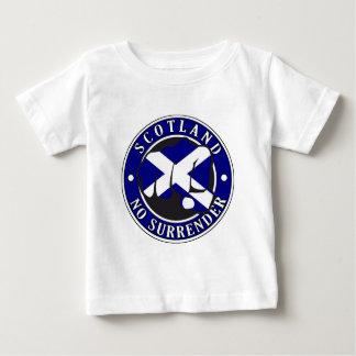 """Scotland """"No Surrender"""" Fist Baby T-Shirt"""