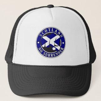 """Scotland """"No Surrender"""" Fist Trucker Hat"""