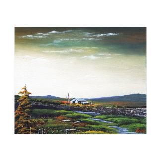 Scotland of pathos. canvas print