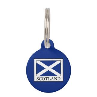 Scotland Pet Name Tag