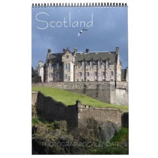 scotland photography wall calendar