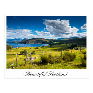 Scotland postcard