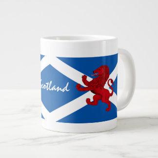 Scotland Rampant ancient Lion/St. Andrews flag Large Coffee Mug