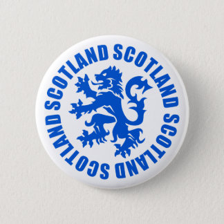 Scotland Rampant Lion Emblem 2 Inch Round Button
