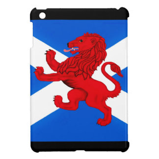 Scotland rampant lion, st andrews flag iPad mini covers