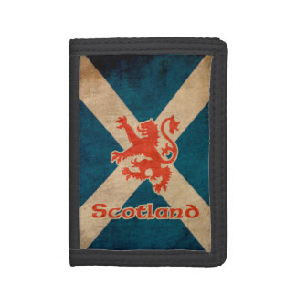 Scotland Rampant Lion Tri-fold Wallets