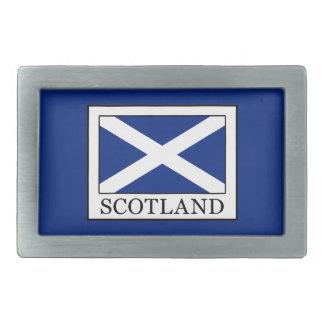 Scotland Rectangular Belt Buckle