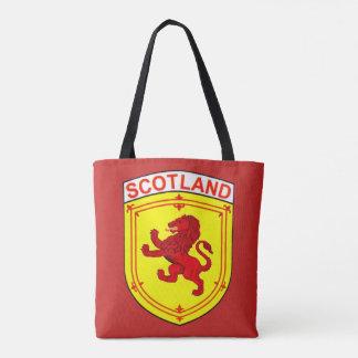 Scotland red ancient Rampant lion Tote Bag