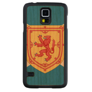 Scotland Royal Arms and Flag -.png Cherry Galaxy S5 Slim Case