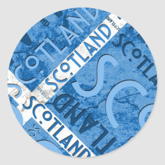 Scotland Saltire Sticker