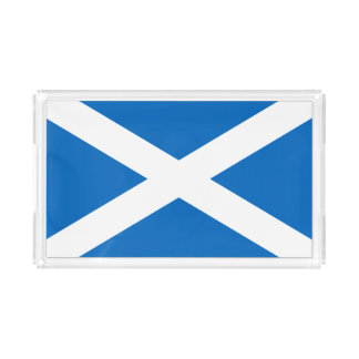 Scotland Scottish Flag Acrylic Tray