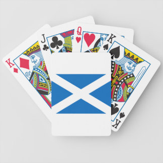 Scotland Scottish Flag Bicycle Playing Cards