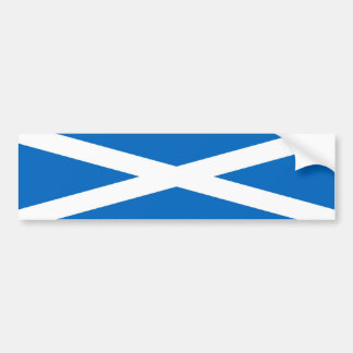 Scotland/Scottish Flag Bumper Sticker