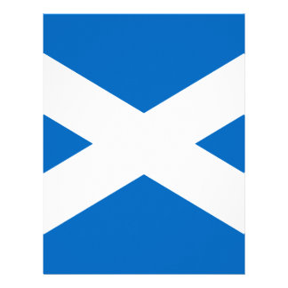 Scotland Scottish Flag Letterhead