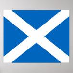 Scotland/Scottish Flag Poster