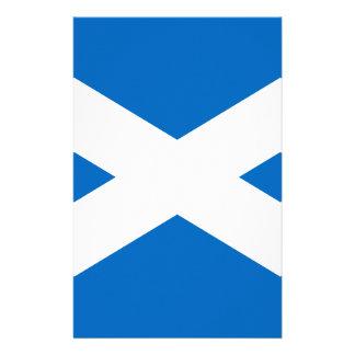 Scotland Scottish Flag Stationery Paper