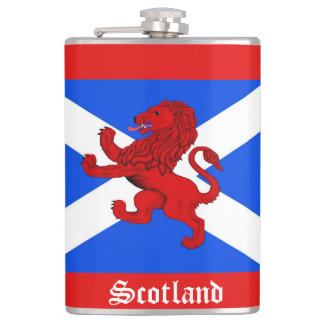 Scotland Scottish Rampant lion, Saint Andrews flag Flasks