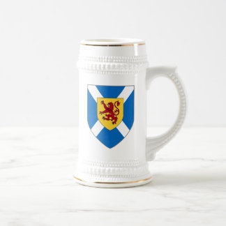 Scotland Stein - Cross & Lion Shield