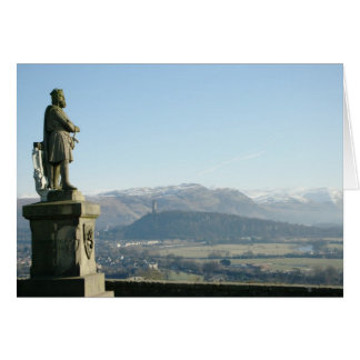 Scotland Stirling King Robert the Bruce Card