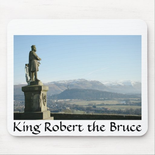 Scotland Stirling King Robert the Bruce Mousepads