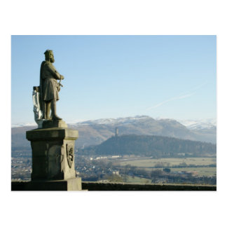 Scotland Stirling King Robert the Bruce Postcard