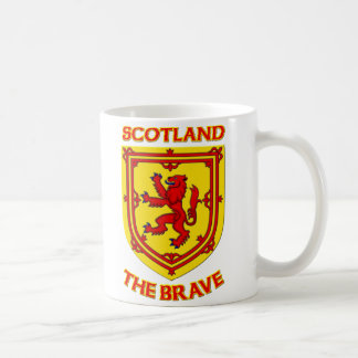 Scotland the Brave and Coat of Arms Coffee Mug